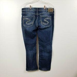 Silver Jeans Sam Boyfriend Jeans 33 Measures 35x28